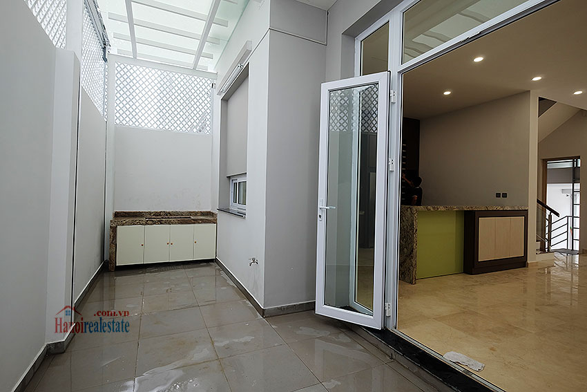 Brand new peaceful 05BRs house in K block Ciputra, unfurnished 11