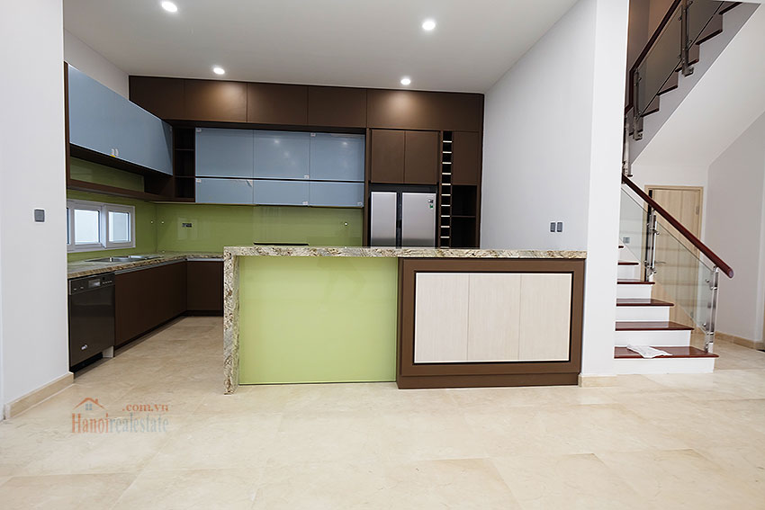 Brand new peaceful 05BRs house in K block Ciputra, unfurnished 8