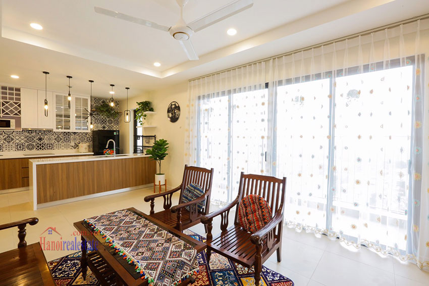 Brand new, spacious apartment for rent in Kosmo Tay Ho 1