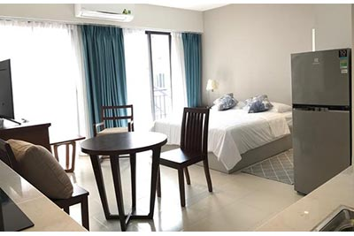 Brand new studio serviced apartment at Quang Khanh St, balcony