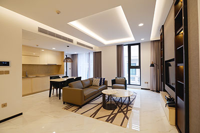 Brand new super luxury serviced apartment in Ba Dinh for rent