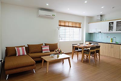 Brand-new 01BR apartment, fully furnished in Yen Phu Village