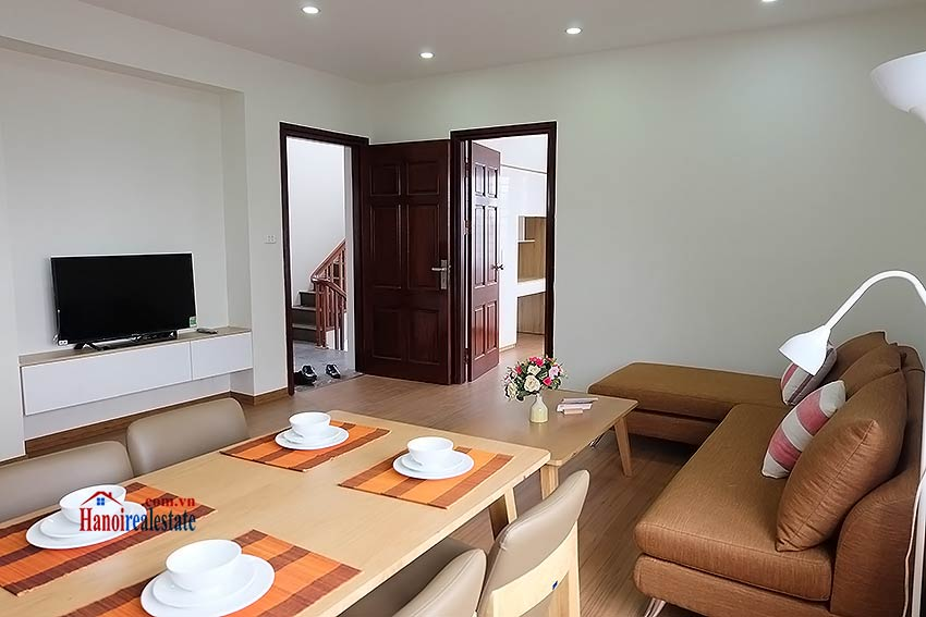 Brand-new 01BR apartment, fully furnished in Yen Phu Village 5