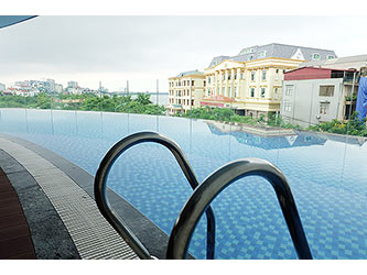 Brand-new 03BRs apartment for rent at Watermark, with lake view