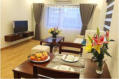 Brandnew apartment 01Br in Ba Dinh Dist., walking distance to Lotte Center