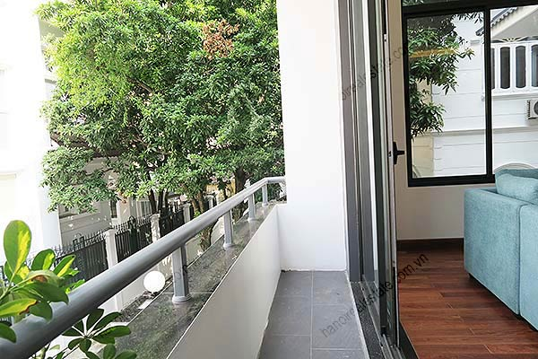 Brand-new, fully furnished 04BRs villa for rent at Tay Ho, with swimming pool. 16