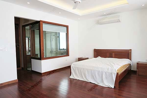 Brand-new, fully furnished 04BRs villa for rent at Tay Ho, with swimming pool. 33