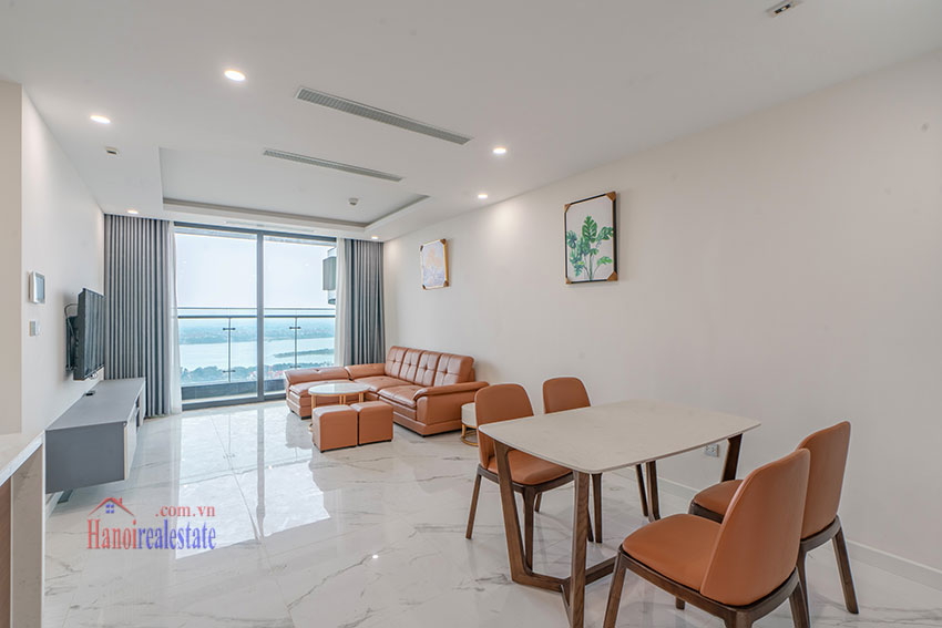 Brandnew Red River view 02 bedroom apartment in Sunshine City 1