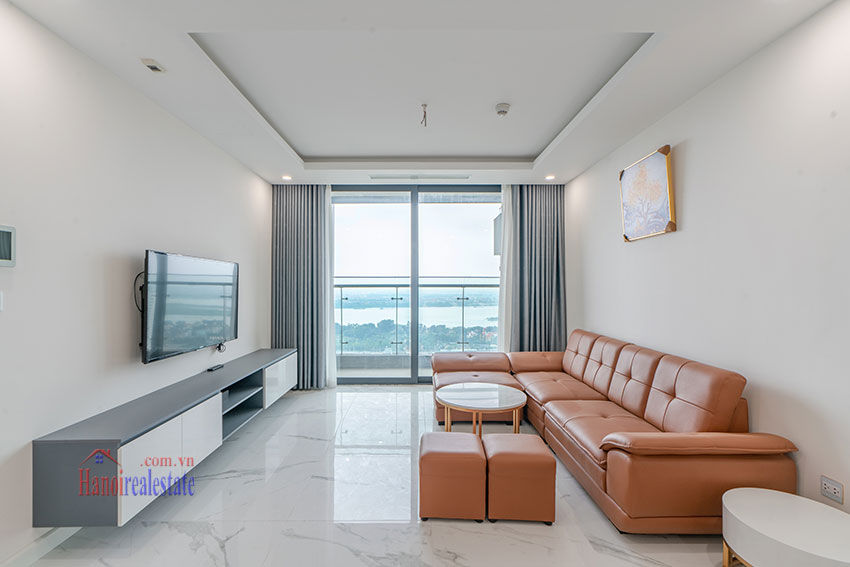 Brandnew Red River view 02 bedroom apartment in Sunshine City 2