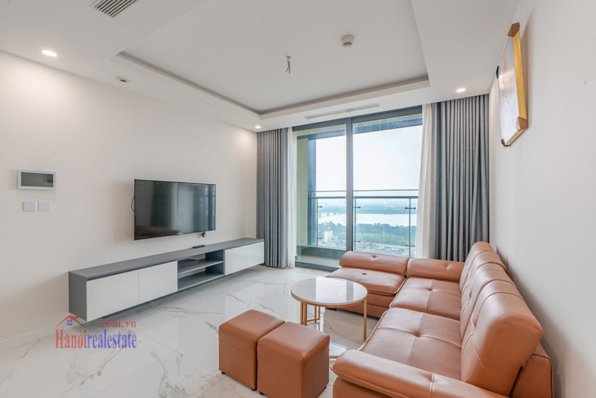 Brandnew Red River view 02 bedroom apartment in Sunshine City 3