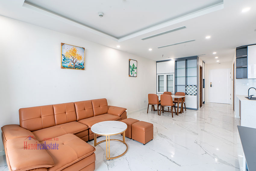Brandnew Red River view 02 bedroom apartment in Sunshine City 4