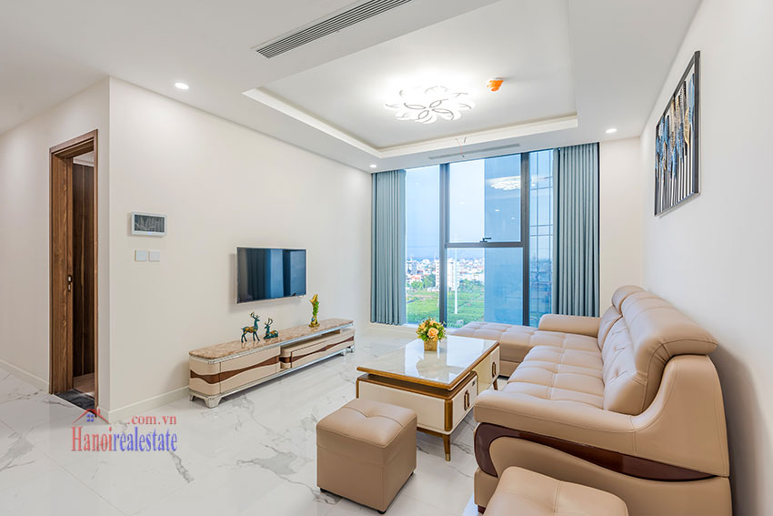 Brandnew Red River view 03 bedroom apartment in S2 Tower Sunshine City 11