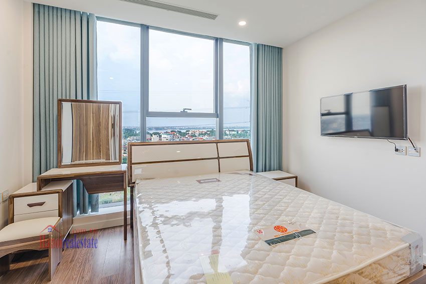 Brandnew Red River view 03 bedroom apartment in S2 Tower Sunshine City 5
