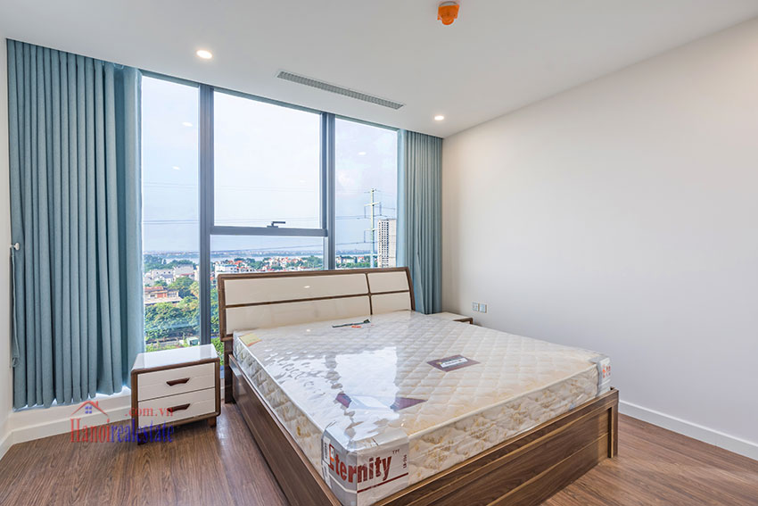 Brandnew Red River view 03 bedroom apartment in S2 Tower Sunshine City 8