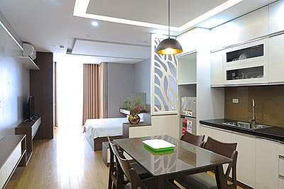 Brand-new studio in Linh Lang, walking distance to Lotte Center