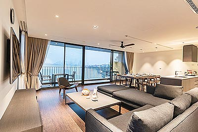Breathtaking West Lake view 4-bedroom Apartment on Quang Khanh