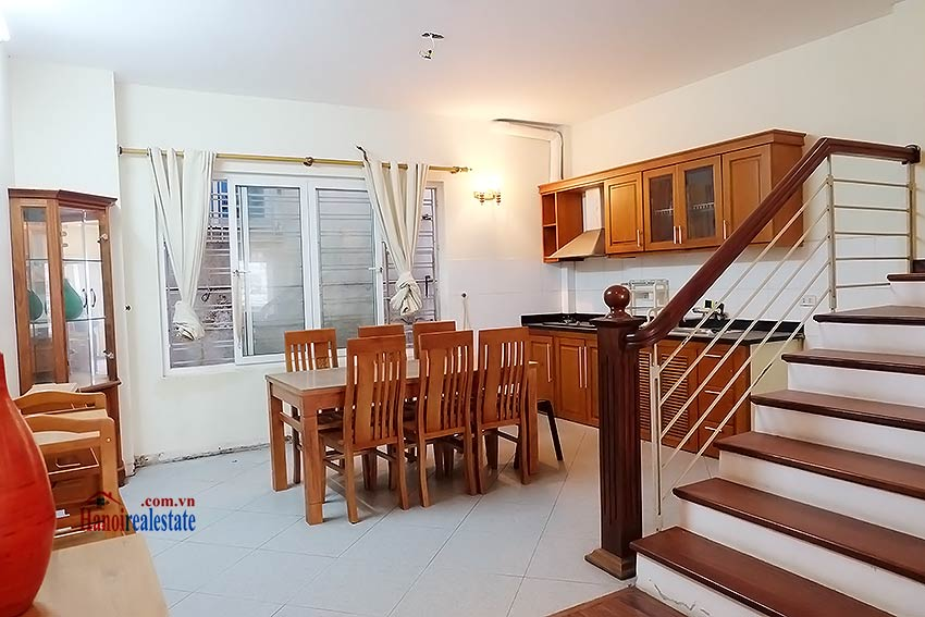 Bright 03BR house for rent in Au Co, Tay Ho Dist 12