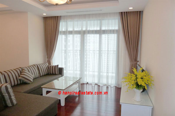 Bright & airy 2 bedroom apartment at Royal City Hanoi for lease 1