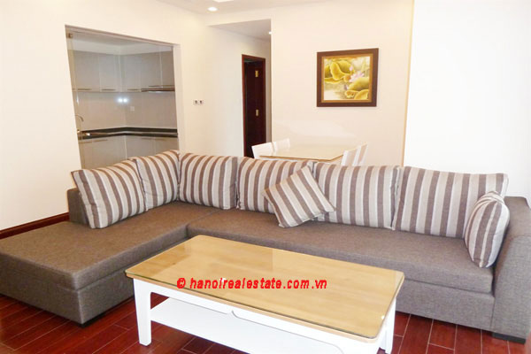Bright & airy 2 bedroom apartment at Royal City Hanoi for lease 3