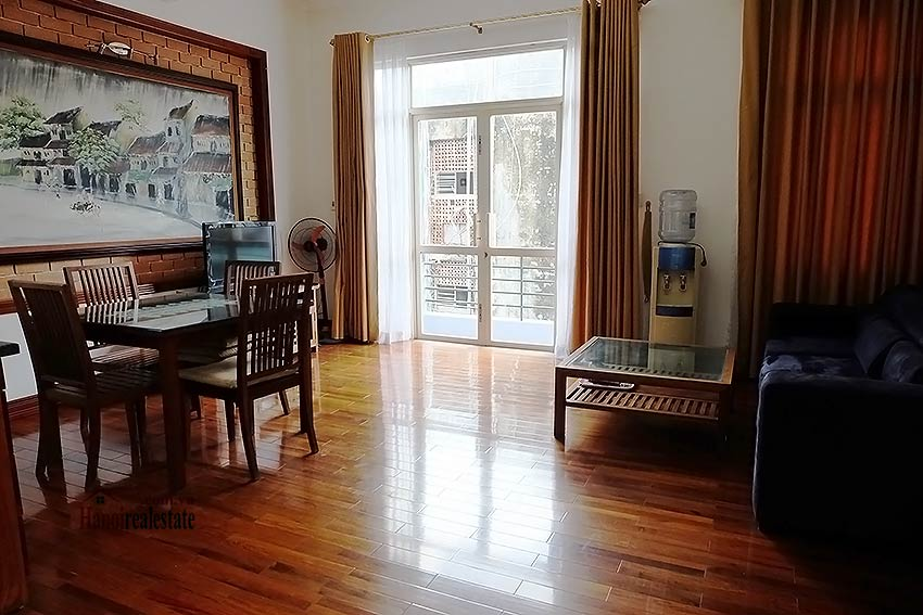 Bright and airy 01BR apartment for rent in Kim Ma, fully furnished 1