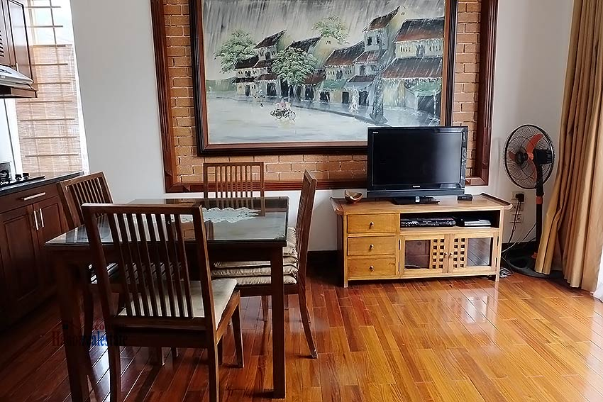 Bright and airy 01BR apartment for rent in Kim Ma, fully furnished 4