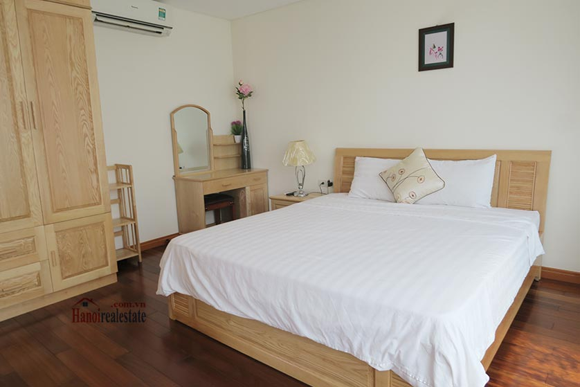 Bright and airy 02BRs serviced apartment in Ba Dinh District, city view 10