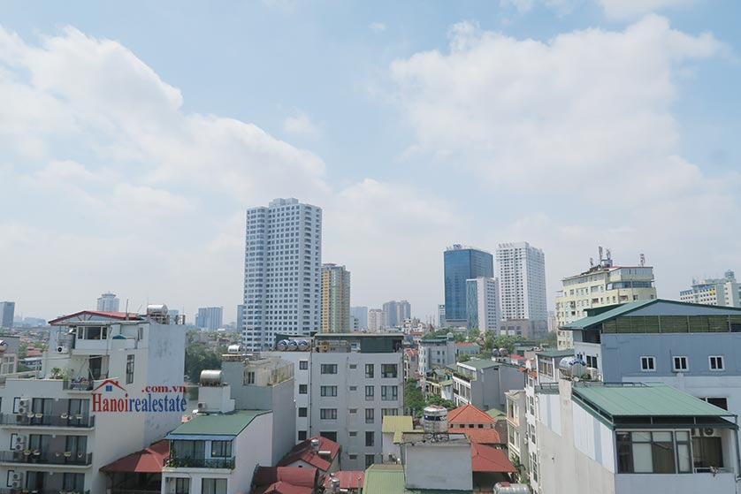 Bright and airy 02BRs serviced apartment in Ba Dinh District, city view 12