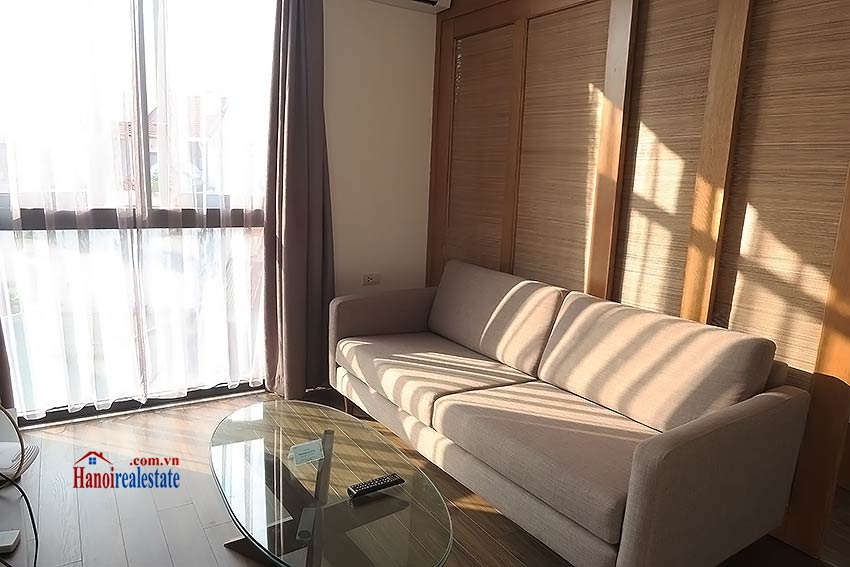 Bright and airy serviced studio in Dao Tan, Ba Dinh Dist 3
