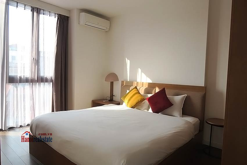 Bright and airy serviced studio in Dao Tan, Ba Dinh Dist 4
