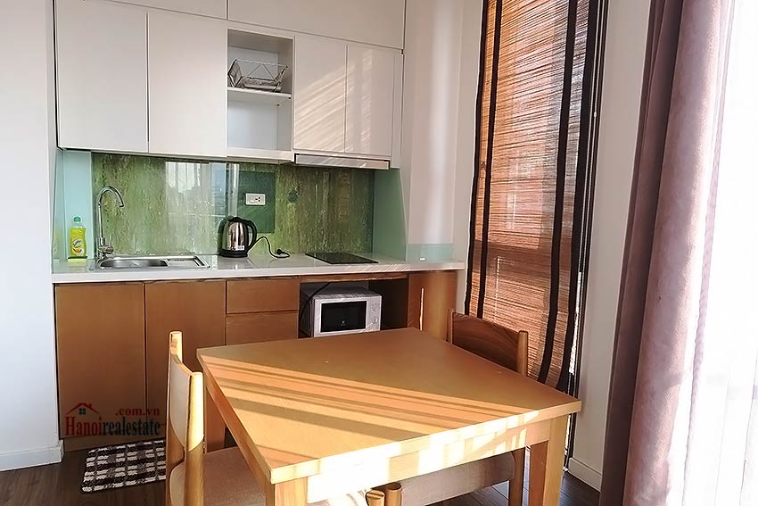 Bright and airy serviced studio in Dao Tan, Ba Dinh Dist 6