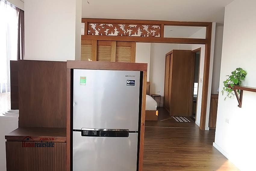 Bright and airy serviced studio in Dao Tan, Ba Dinh Dist 7