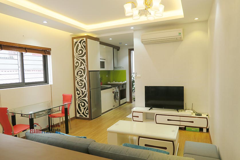 Bright, brand new studio apartment at Dong Da District, with balcony 2