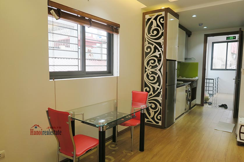 Bright, brand new studio apartment at Dong Da District, with balcony 3