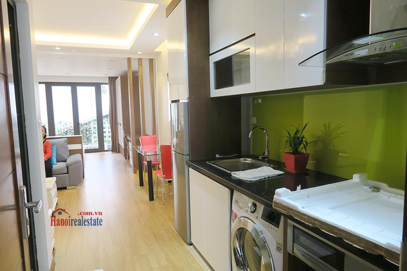 Bright, brand new studio apartment at Dong Da District, with balcony 6