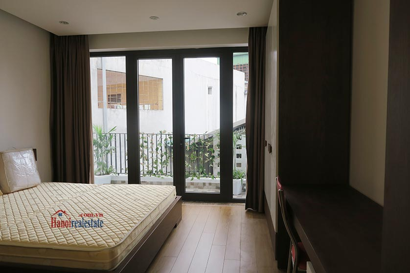Bright, brand new studio apartment at Dong Da District, with balcony 8