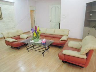Bright, nice living room aparment for rent in Cau Giay