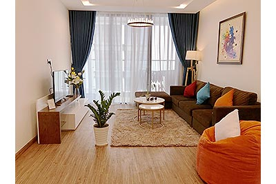 Full option and cozy 03BRs serviced apartment  Vinhomes Metropolis