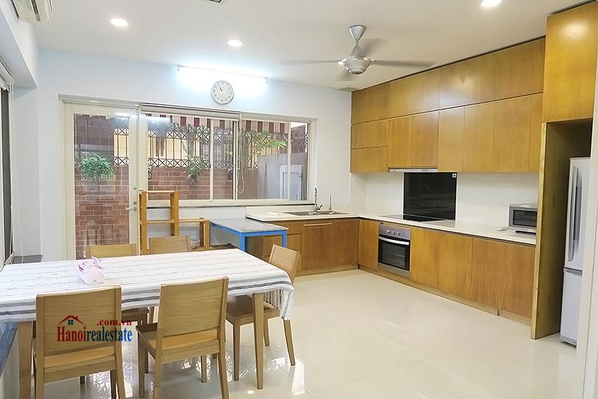 Charming 03 bedroom house to let in Tay Ho, surrounding garden and fully furnished 8