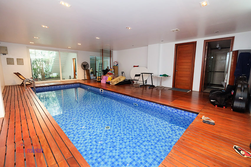 Charming 04BRs villa with swimming pool and garden terrace on To Ngoc Van 33