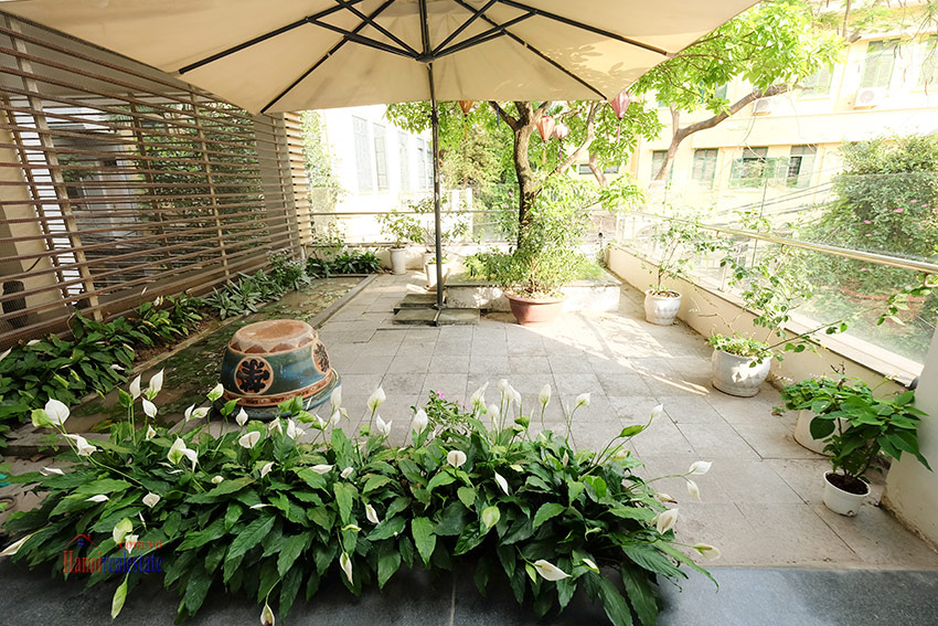 Charming 04BRs villa with swimming pool and garden terrace on To Ngoc Van 7