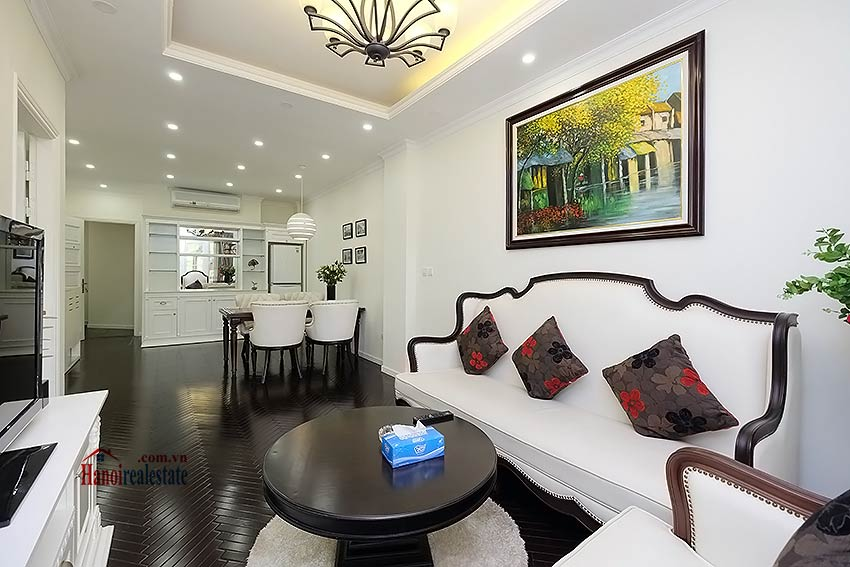 Charming 2 bedroom apartment to lease in Hoan Kiem, short walk from Opera House 3