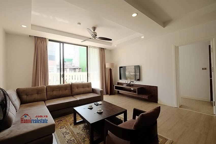 Charming 2-bedroom apartment for rent in Hoan Kiem with Large balcony 2