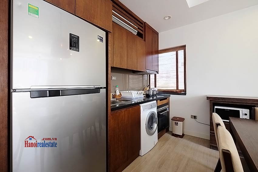 Charming 2-bedroom apartment for rent in Hoan Kiem with Large balcony 5