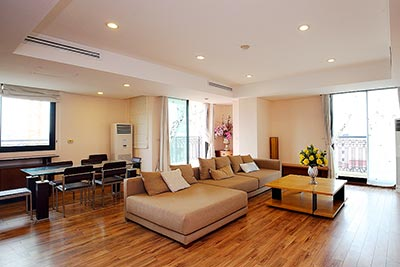 Charming 3-bedroom apartment in Pacific Place, Hoan Kiem