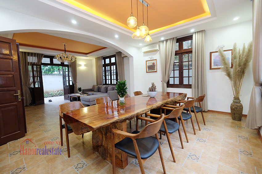 Charming 3-bedroom house with surrounding courtyard in Tay Ho 11