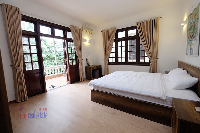Charming 3-bedroom house with surrounding courtyard in Tay Ho 17