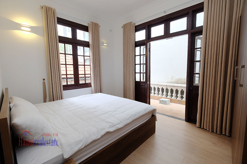 Charming 3-bedroom house with surrounding courtyard in Tay Ho 22