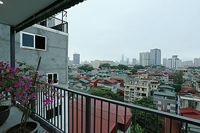 Charming City view apartment for rent in Ba Dinh, Kim Ma Street