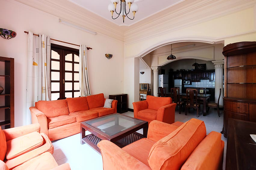 Charming house for rent on To Ngoc Van, big terrace and fully furnished 2