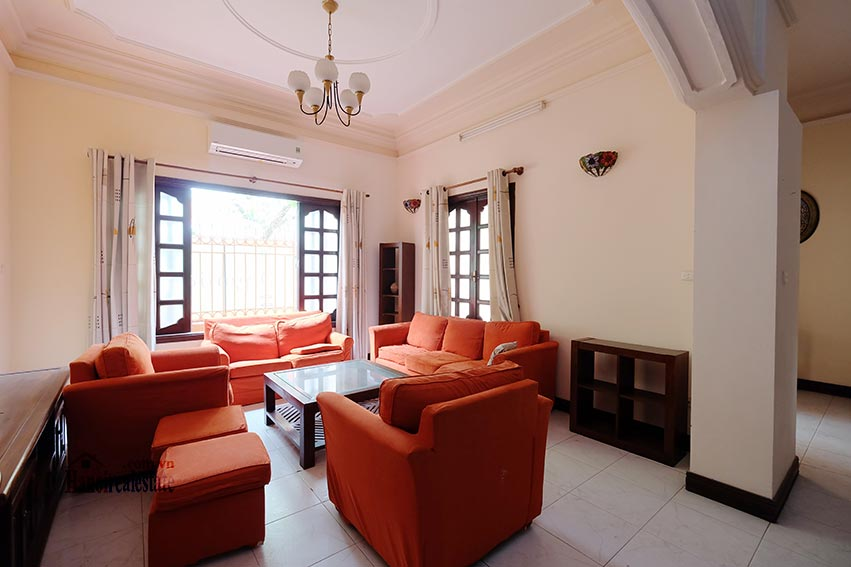Charming house for rent on To Ngoc Van, big terrace and fully furnished 3